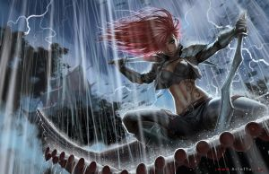 LOL: Katarina by ArtofTu