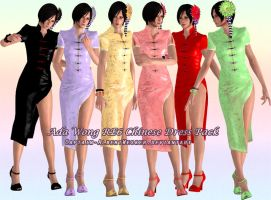 Ada RE6 Chinese Dress by Captain-AlbertWesker