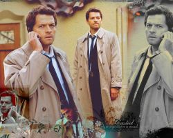 Castiel - Misha Collins wallpaper by sundaymorning666