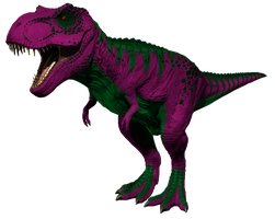 Barneysaurus Rex 1 by FiftyFootWhatever