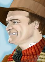 Rodney McKay as The Doctor by WolfenM