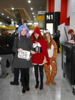 Me and my friends at Comic con 2012 by UndertakerisEpic