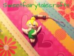 Tinker Bell charm by Sweetfairytalecrafts