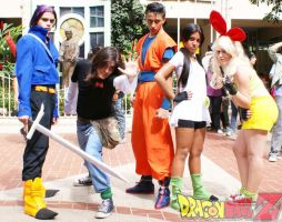 Trunks 17 Videl Lunch - DBZ by Taty--chan