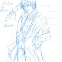 Sketch- Jetan Kensai by Kalid909