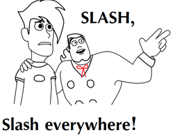 DP - Slash everywhere by SigneTheSlaske