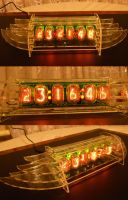 IN-12 Nixie Clock by VasGoTec
