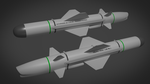 Uranium Low Cost Multiplatform Missile by Stealthflanker