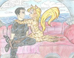 Joey and Lyni by Tenchi8