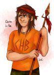 PJO- Clarisse La Rue by SixofClovers