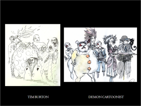 Red Trangle Circus Comparative by DemonCartoonist