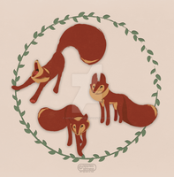Foxglove Character Design by apples-ishness