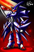 Metal sonic by ArchiveN