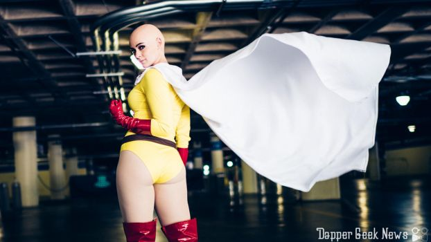 One Punch Woman - Caped Baldy by AnnaLynnCosplay