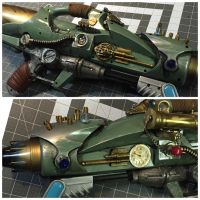Steampunk Water pistol Complete by Phishnetstudio