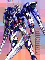 GUNDAM IN WPAP by YUHEND