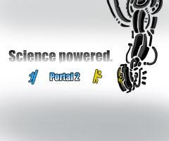 Science powered Science by AtomicWarpin