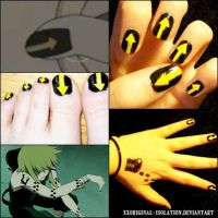 Nails - Soul Eater: Medusa by thatcoldmask