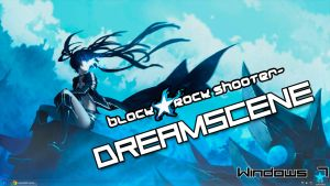 Black Rock Shooter Dreamscene by Kiwaso
