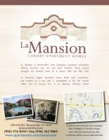 La Mansion Flyer by kwant