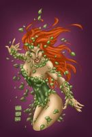 Turner Poison Ivy by MarcBourcier