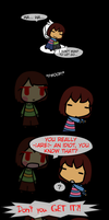 Undertale - No Easy Task (SPOILERS) by Kigurou-Enkou