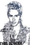 Jared Leto - Typography by EmZ565