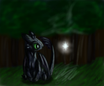 Toothless by P0ryeon