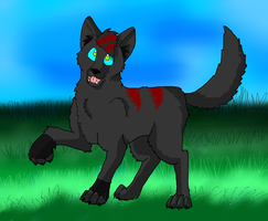 .:RQ:. For wolfhowl508 x3 by Sooty123