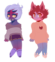 Adoptable Monster Girls by OliviaAndEdd