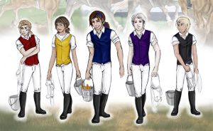 The Jockeys from RPS by abosz007