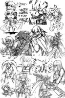 Sketch Compilation 9.9.09 by MARKCW