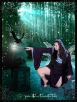 The Raven by pixie-stix-art