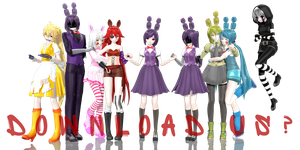 [MMD] Five Nights at Freddy's - Bonus Pack by traineeCross