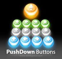 Push Down Buttons by wackypixel