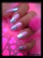 pink and foil by Tartofraises