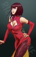 ANNA WILLIAMS - DSC Challenge Colored by Rinexperience
