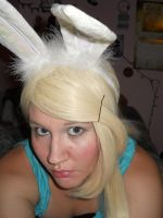 Fionna the Human: Bunny Style by SabinaRose5