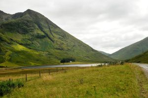 Scottish highland valley 2 by wildplaces