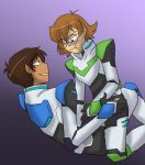 Voltron - Pidge and Lance by liliy