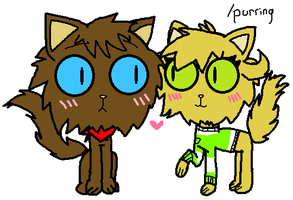 Kitty Cats~ by CaffrinLuvsDHMIS