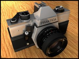 Praktica Camera by bra1n