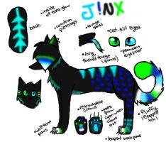 Jinx Reference Sheet by steampuff