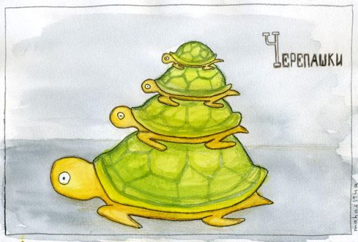 rubber turtles by mahasitha