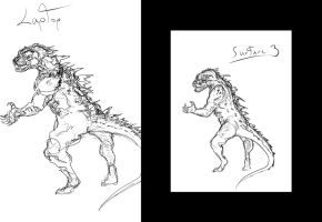 Laptop and Surface 3 Sketch Comparing by systemcat
