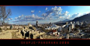 Skopje Panorama 2008 by mitatos