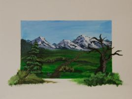 Mountains by Annamoon77