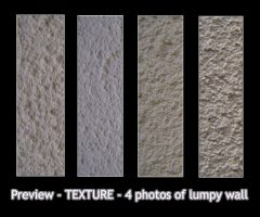 - TEXTURE - lumpy bumpy wall by Von-Chan