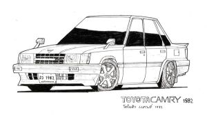 1982 Toyota Camry by ngarage