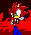 Blade the Hedgehog by 6Sth6